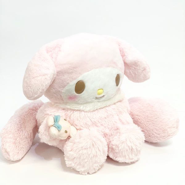 My Melody Pink Furry Plush