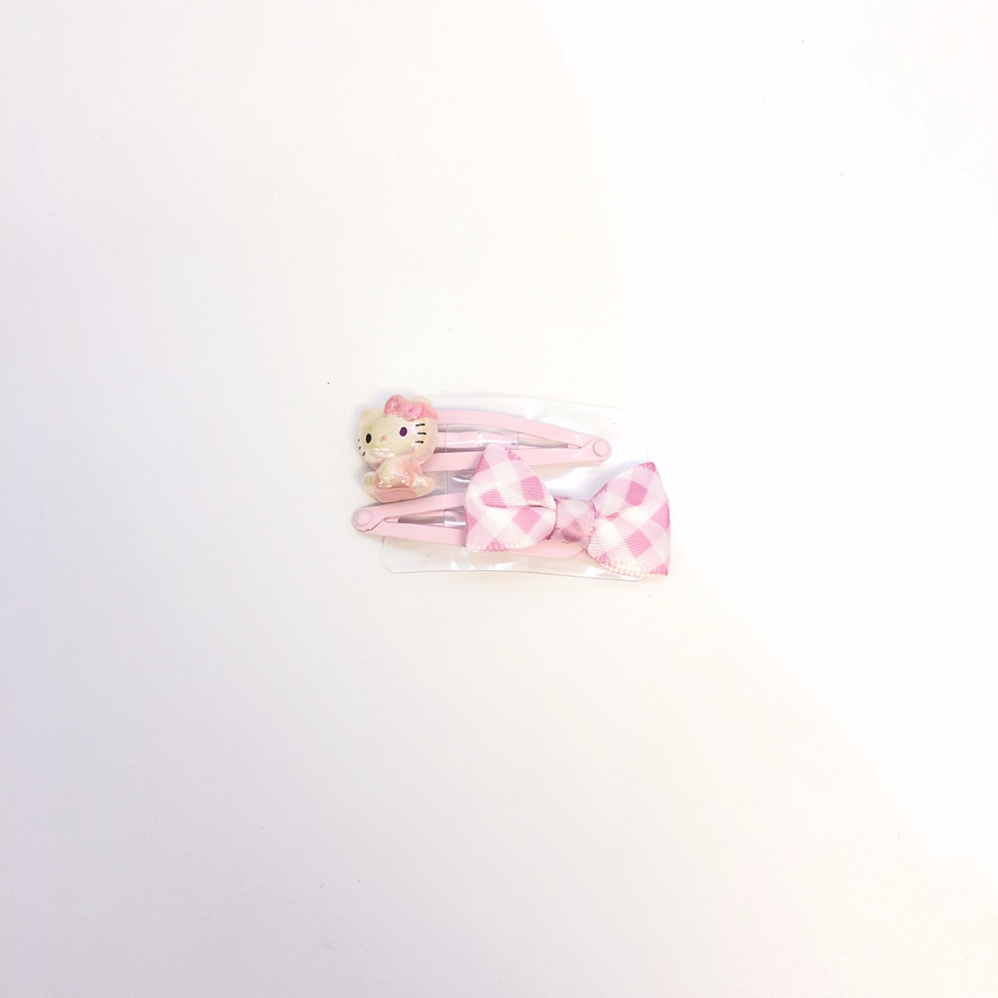 Hello Kitty Pink Hair Clips