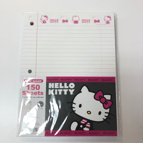 Hello Kitty Charming Pink Loose Leaf Paper