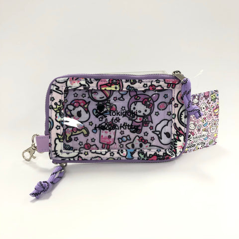 Hello Kitty x Tokidoki Purple Wristlet