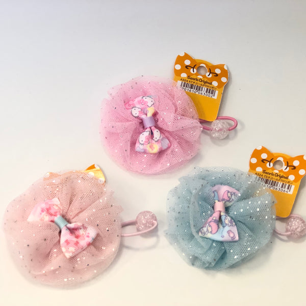 Sanrio Characters Tulle Ponytail Holder