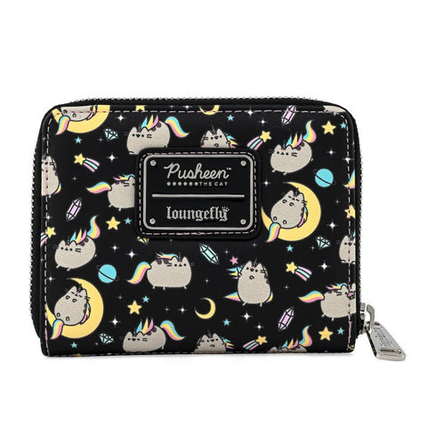 Loungefly x Pusheen Rainbow Unicorn Wallet