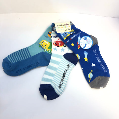 The Runabouts 3 Pair Socks
