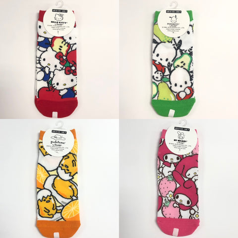 Sanrio Characters Fruit Socks