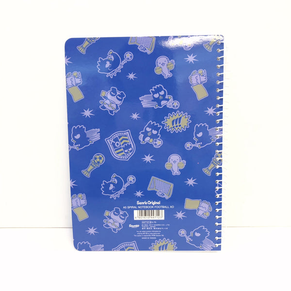 Badtz Maru Football Spiral Notebook
