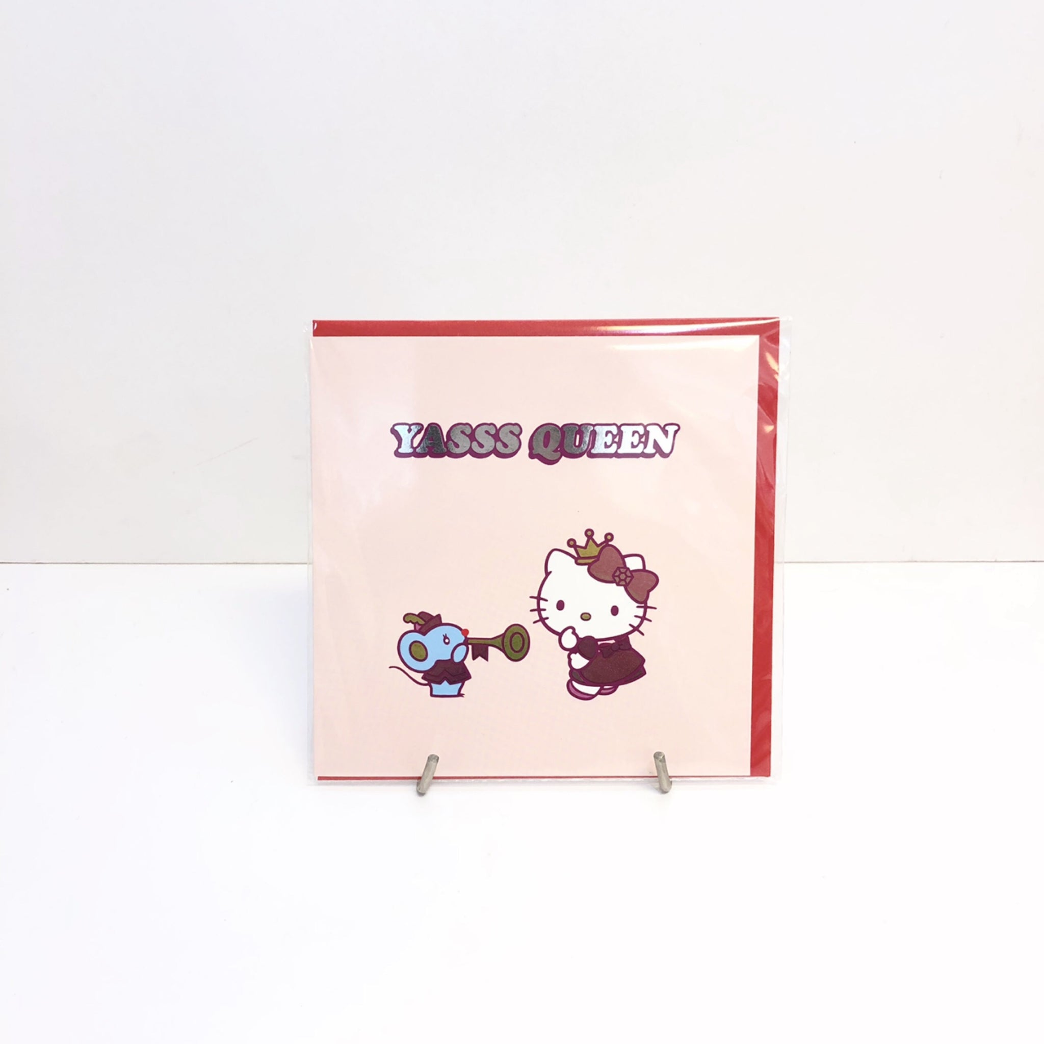 Hello Kitty Yas Queen Card by Jolly Awesome