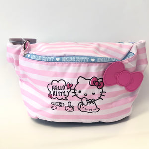 Hello Kitty Pink Stripes Fanny Pack