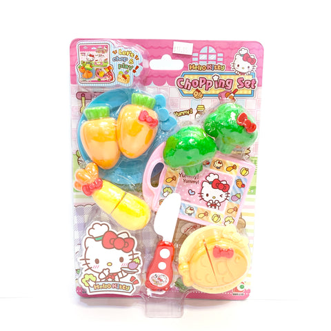 Hello Kitty Chopping Toy Set