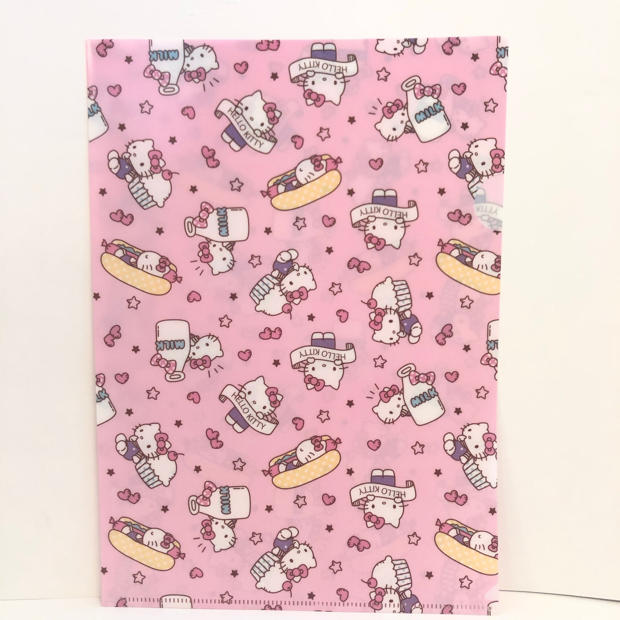 Hello Kitty Cupcake A4 2 Piece File set