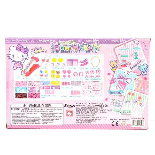 Hello Kitty Bow Maker Set