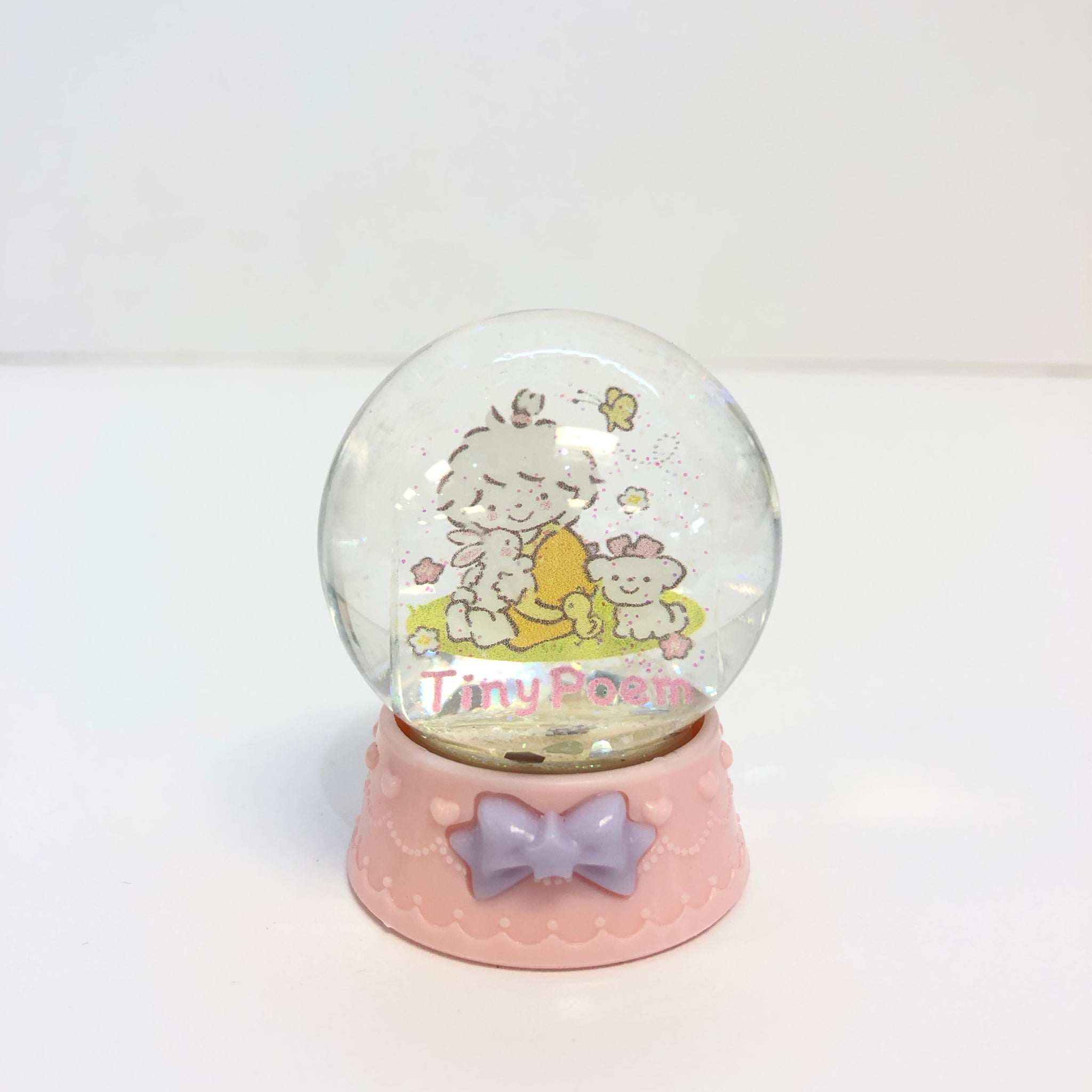 Tiny Poem Mini Snow Globe