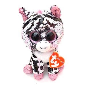 Zoey TY Flippables Tiger Plush