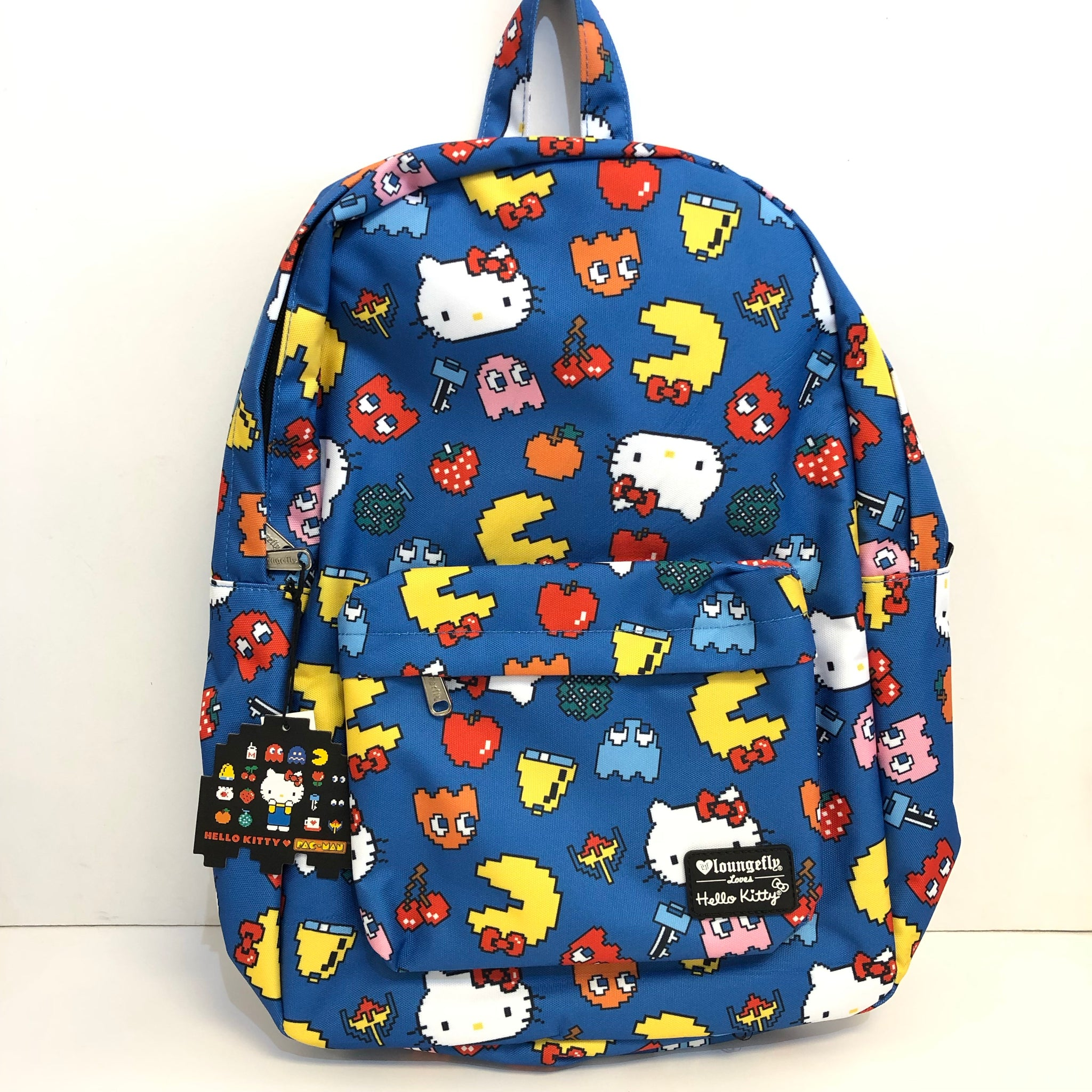 Hello Kitty x Pac-Man Backpack by Loungefly