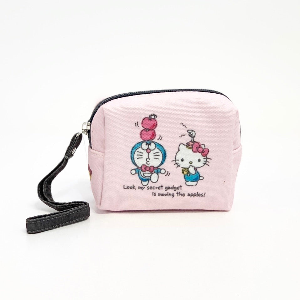 Hello Kitty x Doraemon Mini Pouch