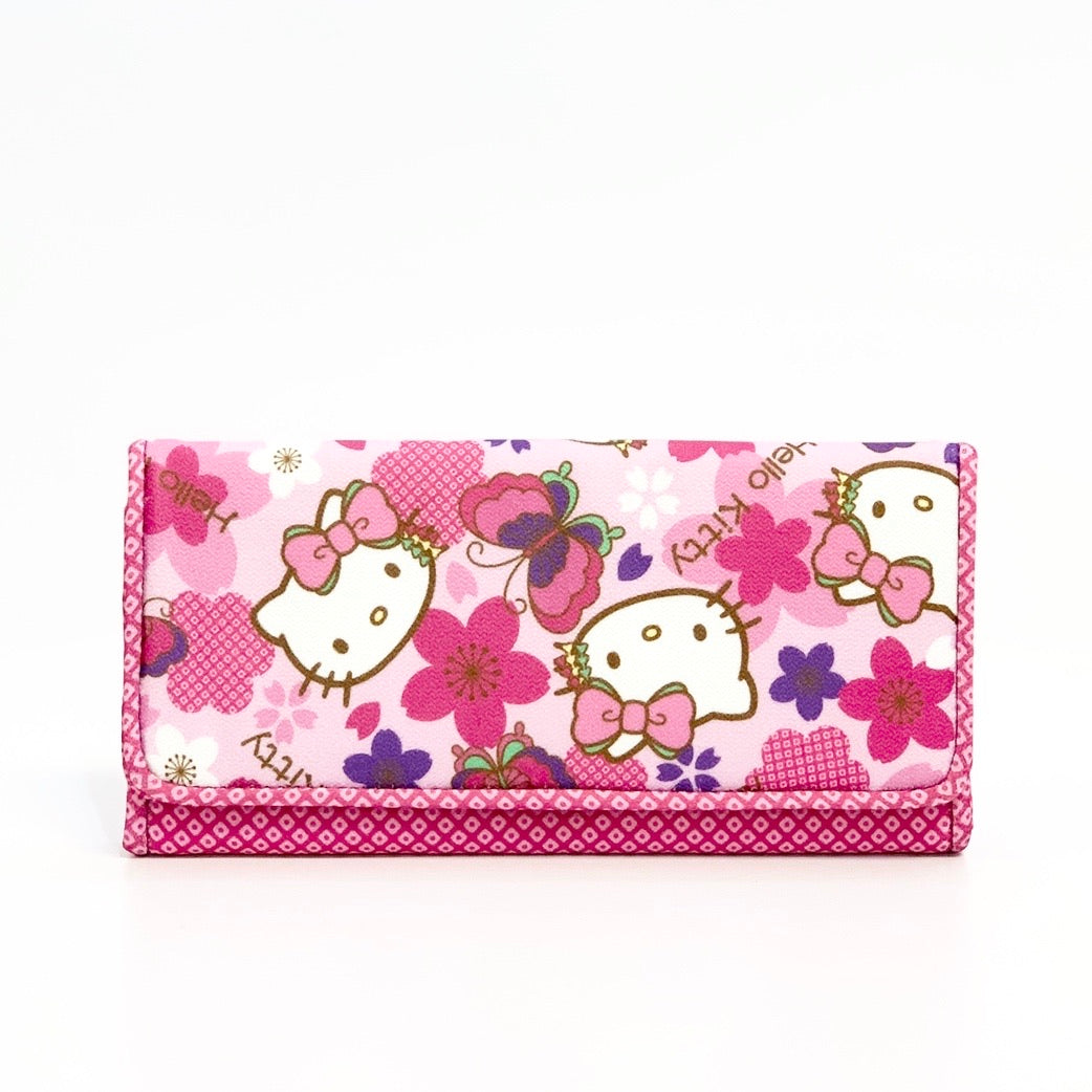 Hello Kitty Kimono Long Wallet