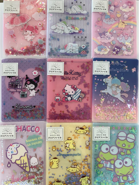 Sanrio Characters Small Clear Twinkle File