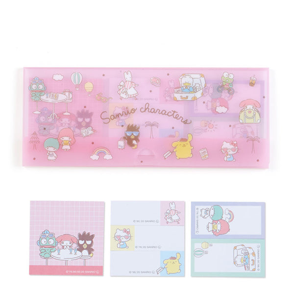 Sanrio Characters Trip Sticky Note Set