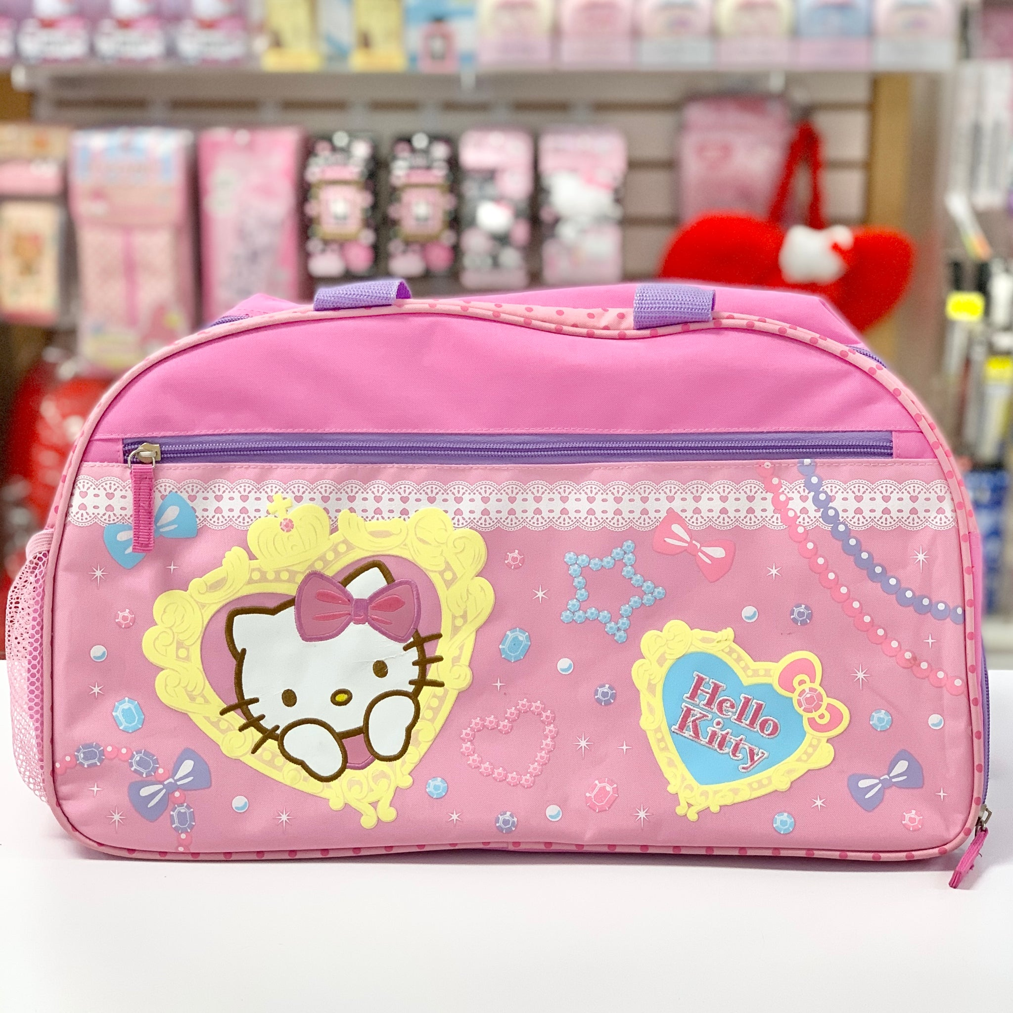 Hello Kitty Shine Overnight Bag