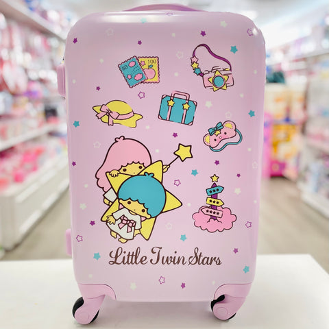 "Little Twin Stars Vacation 20"" Suitcase"