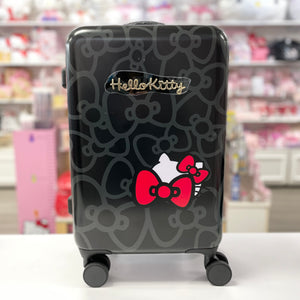 Hello Kitty Behind The Bow Classic Black Suitcase