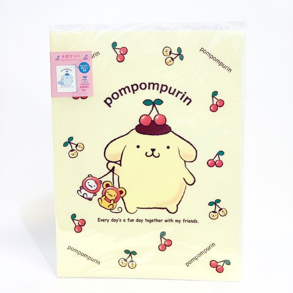 Pompompurin File with Fastener