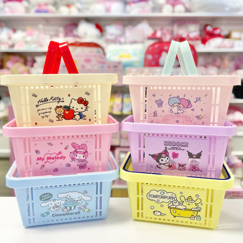 Sanrio Characters Small Storage Basket