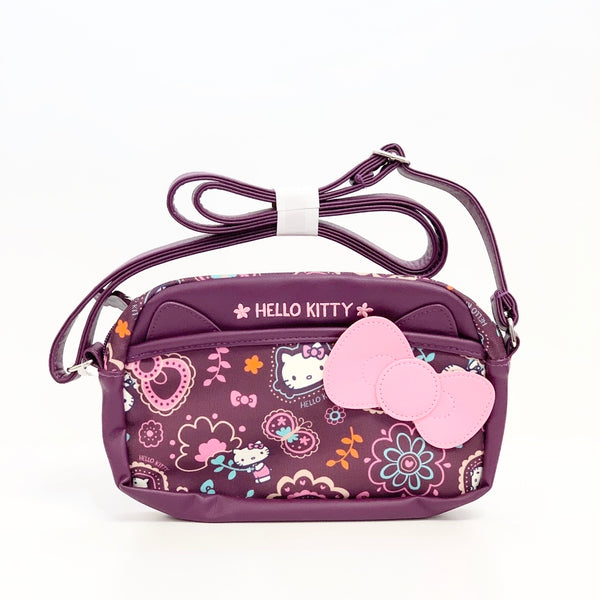 Hello Kitty Paisley Shoulder Pouch