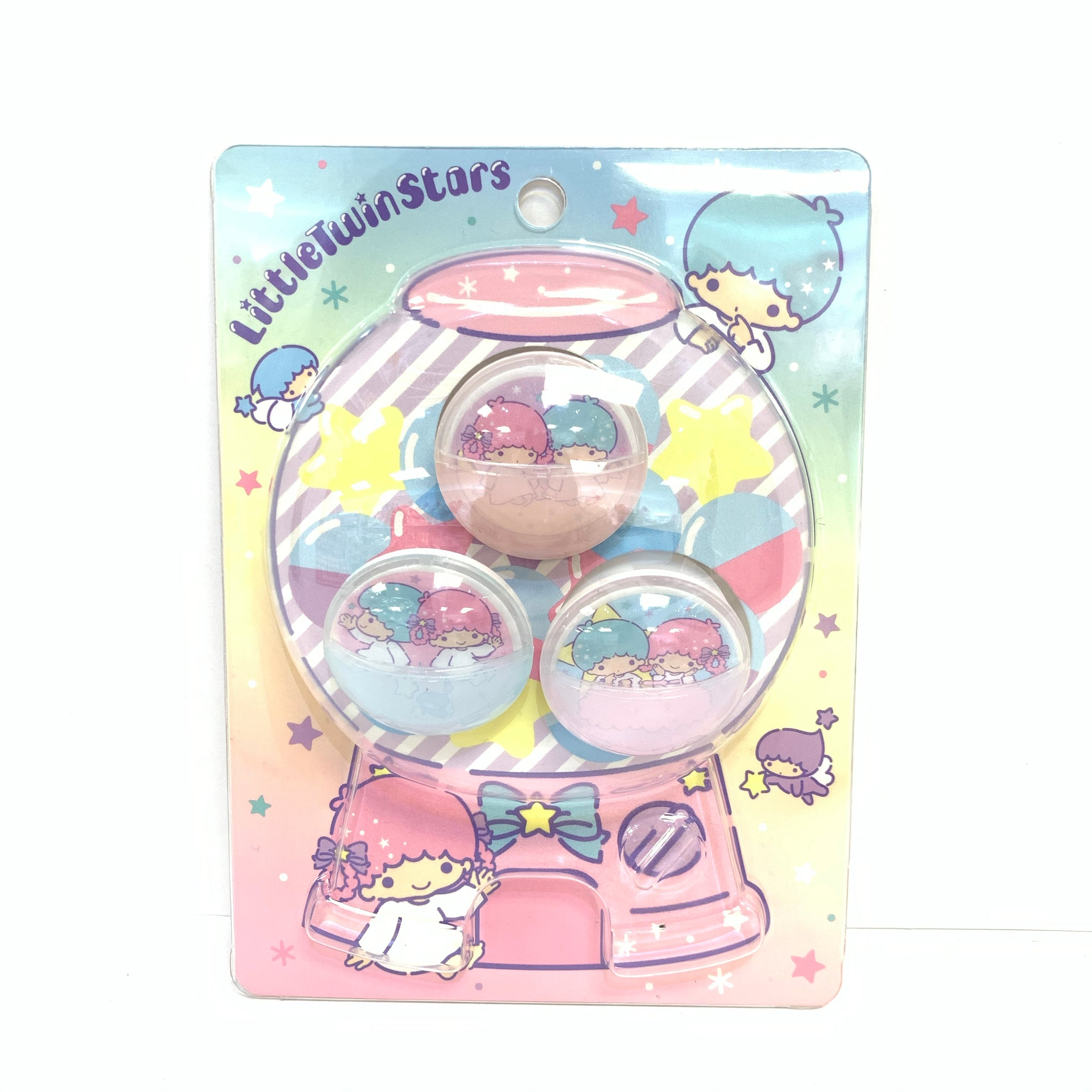 Little Twin Stars Capsule Clips Set