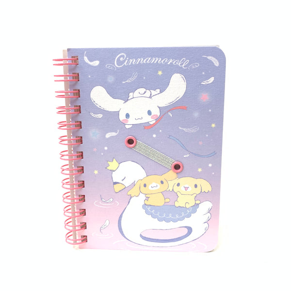 Sanrio Characters B7 Ruled Notebook
