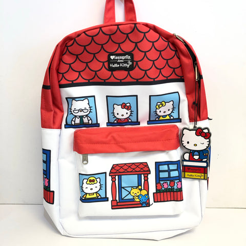 Hello Kitty House Backpack by Loungefly