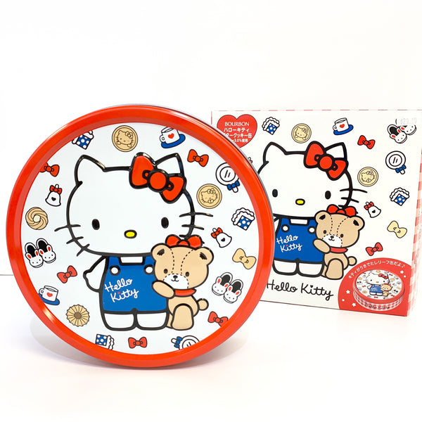 Hello Kitty Cookie Tin by Bourbon