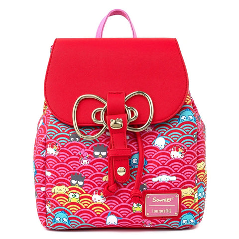 Sanrio 60th Anniversary Mini Backpack by Loungefly