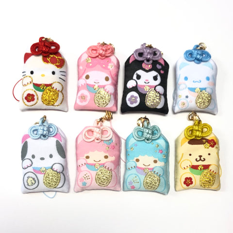 Sanrio Characters Lucky Cat Fortune Keychain