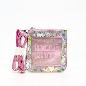 Hello Kitty Holographic Aurora Shoulder Bag