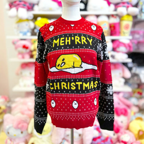 Gudetama Knit Christmas Sweater