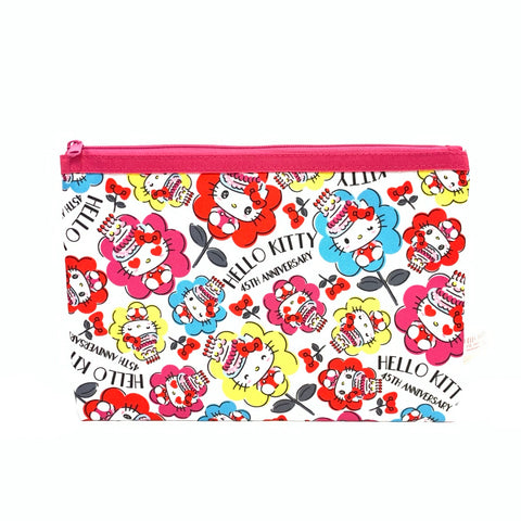 Hello Kitty 45th Anniversary Flat Pouch