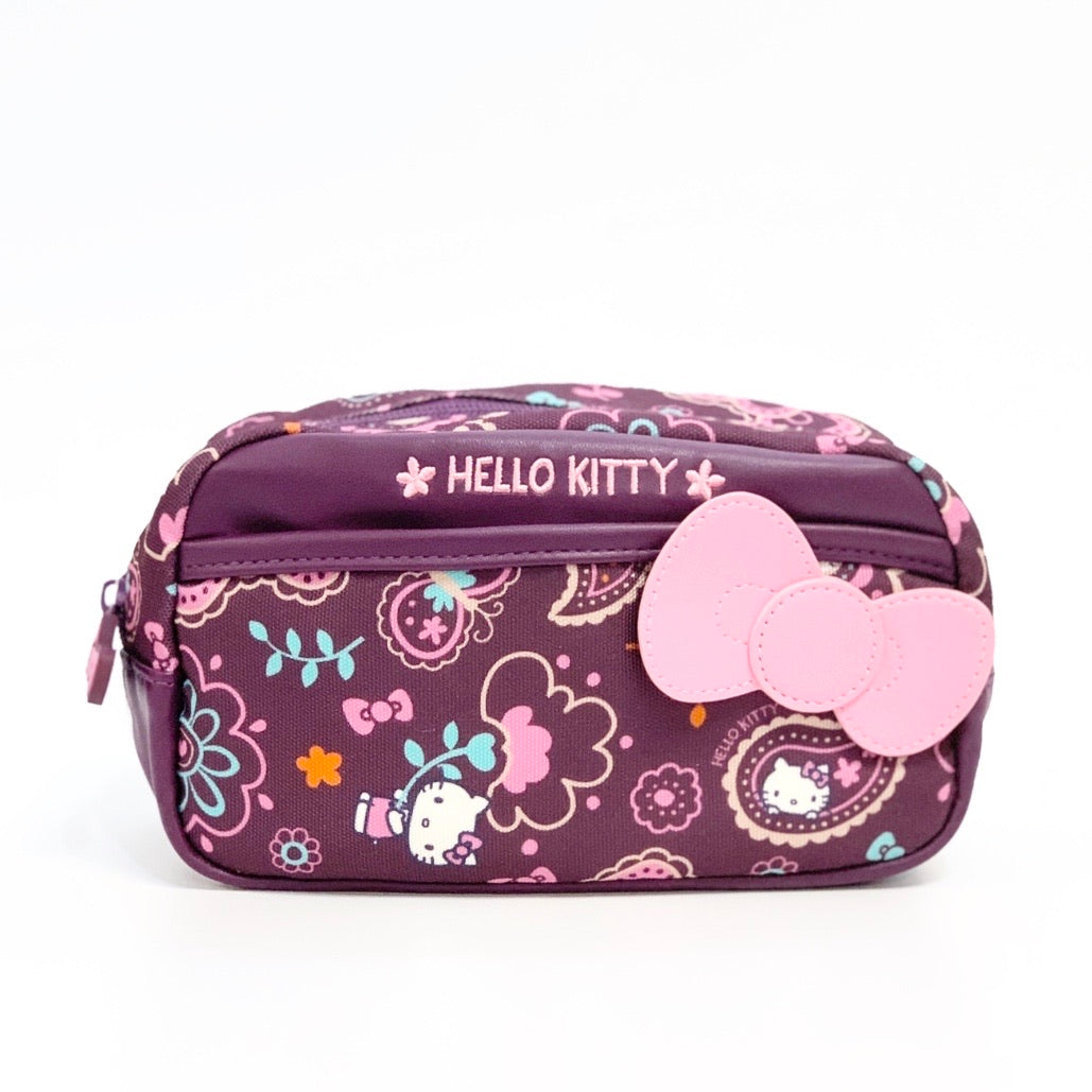 Hello Kitty Paisley Pouch