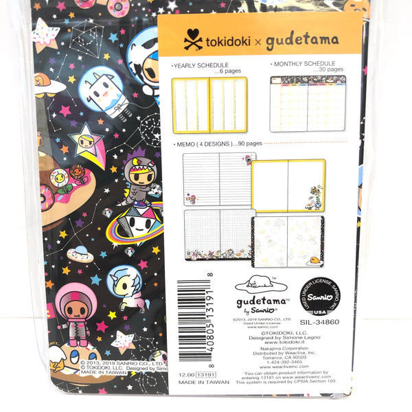 Gudetama x Tokidoki Journal