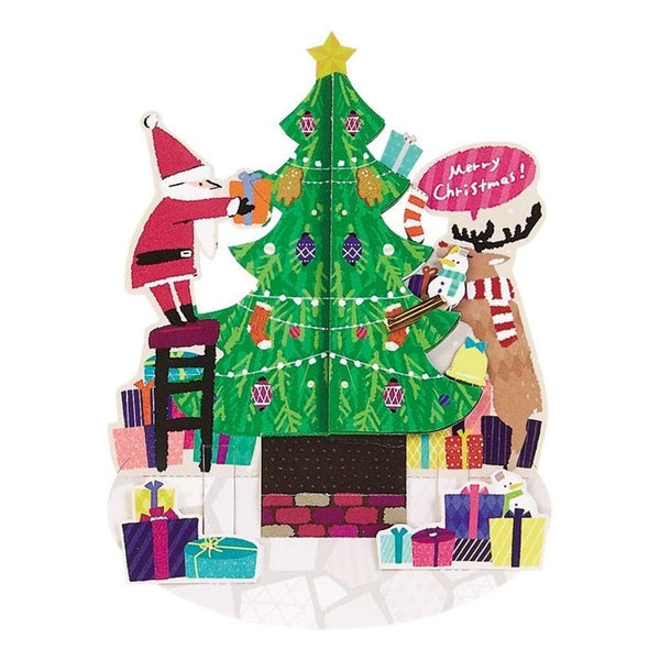 Sanrio Christmas Tree Pop Up Christmas Card