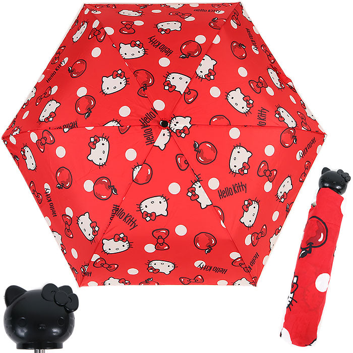 Hello Kitty Folding Umbrella
