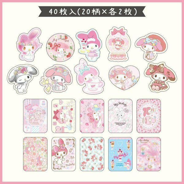 My Melody Stickers in Case