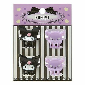 Kuromi Mini Hair Clips