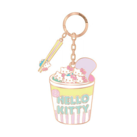 Hello Sanrio by Loungefly Cup O Kitty Keychain