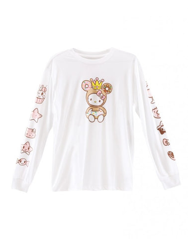 Tokidoki x Hello Kitty Donutella Sweet Shop Kitty Long Sleeve Tee