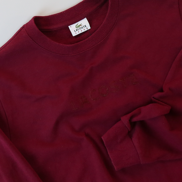 Lacoste Vintage Sweatshirt - Medium