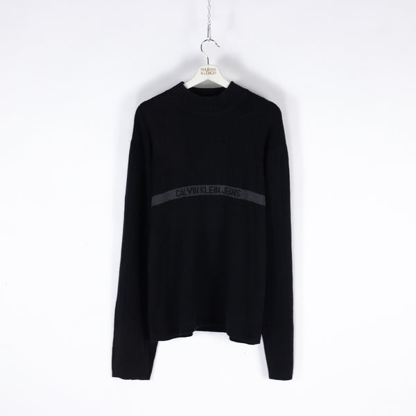 Calvin Klein Mock Neck Sweater - XL