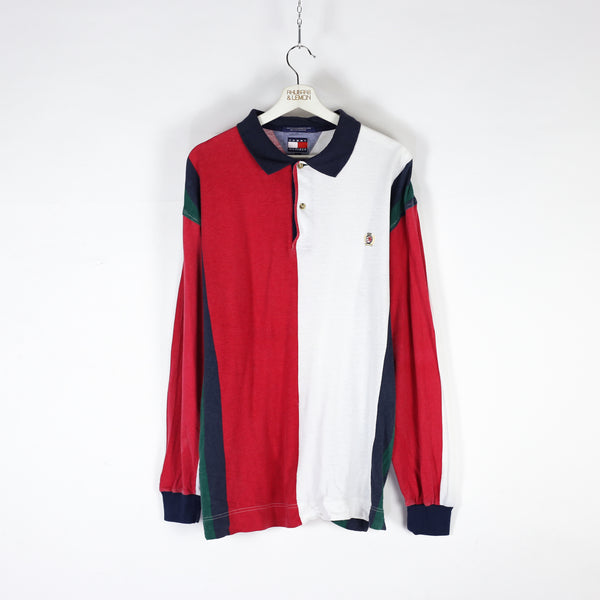 Tommy Hilfiger Vintage Long Sleeved Polo Shirt