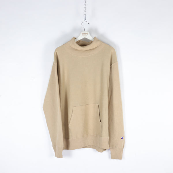 Champion Vintage Turtle Neck Sweatshirt - XL