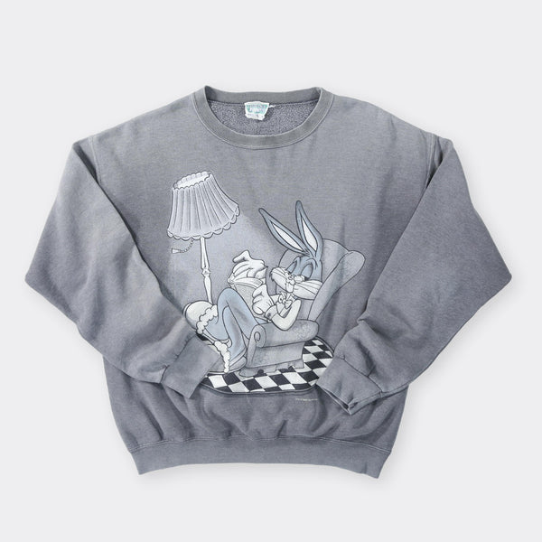 Looney Tunes Vintage Sweatshirt - Large