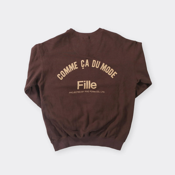 Comme Ca Du Mode Vintage Sweatshirt - Small